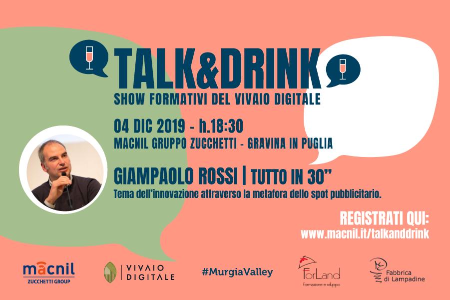Talk&Drink | 4 dicembre