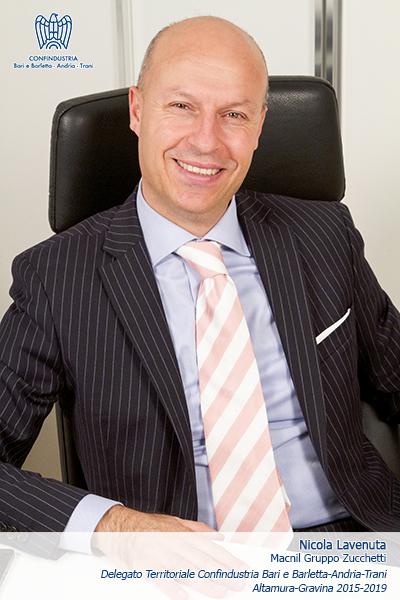Nicola Lavenuta Delegato Confindustria