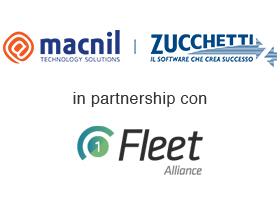 partnership macnil gruppo zucchetti e 1-fleet