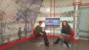 "Mariarita Costanza ad Antenna Sud per ""Punto 13 Talk Coaching"""