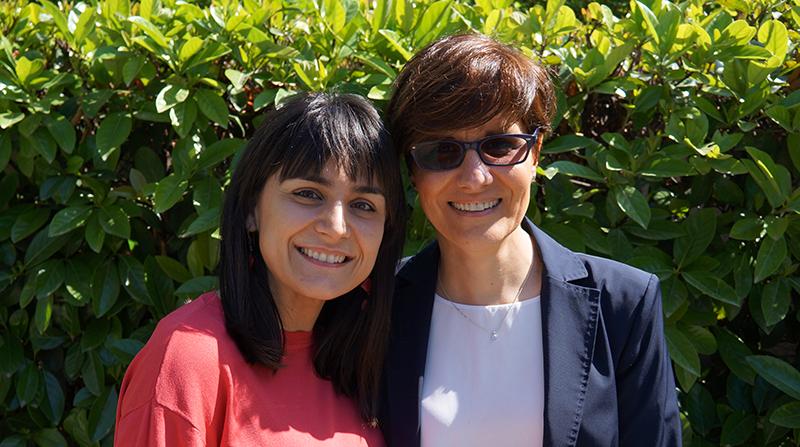 Cristina Angiolillo e Mariarita Costanza