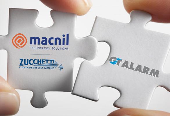 Macnil Zucchetti acquisisce GT Alarm